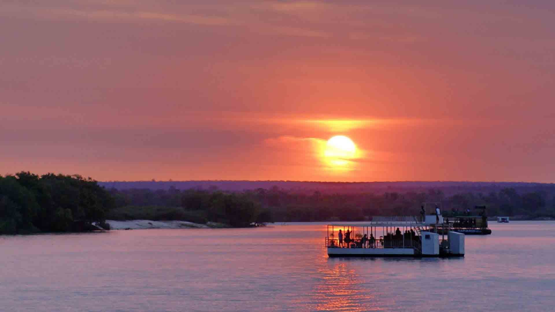 Sunset Cruise Zambezi River